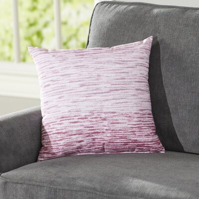 Rocio Ocean View Throw Pillow Size: 26 H x 26 W, Color: Purple