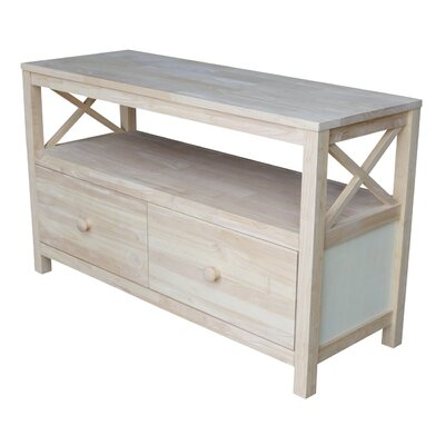 Cosgrave 44-54 TV Stand Width of TV Stand: 26 H x 44 W x 16 D
