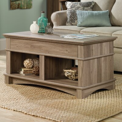 Pinellas Lift Top Coffee Table Color: Salt Oak