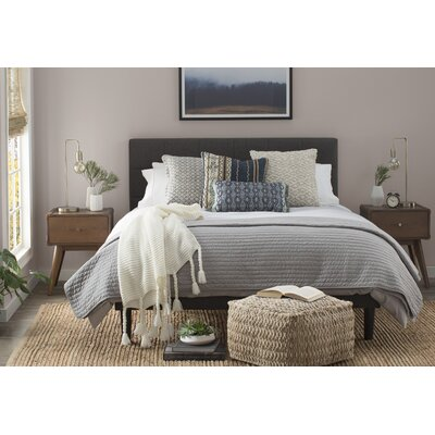 Jersey Duvet Cover Set Size: King, Color: Grey