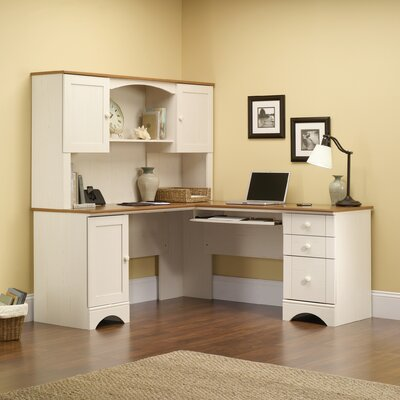 Pinellas 36.13 H x 66.13 W Desk Hutch Finish: Antique White