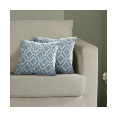 Annagrove Throw Pillow Color: Blue