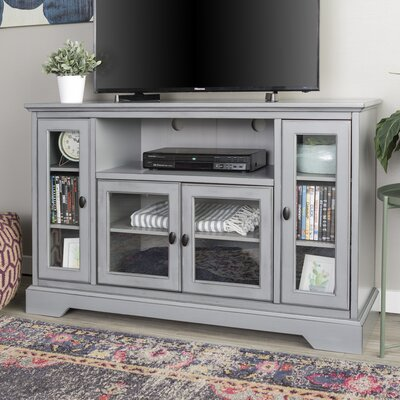 Josie 52 TV Stand Color: Grey
