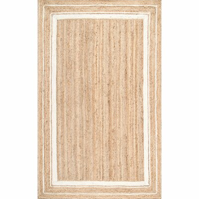 Barbados Beige/Bleached Area Rug Rug Size: Rectangle 4 x 6