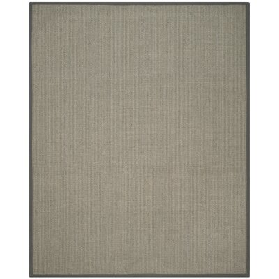 Richmond Hand-Woven Brown/Gray Rug Rug Size: Rectangle 6 x 9