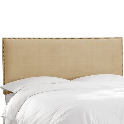 Burhardt Upholstered Panel Headboard Size: Queen, Upholstery: Buckwheat
