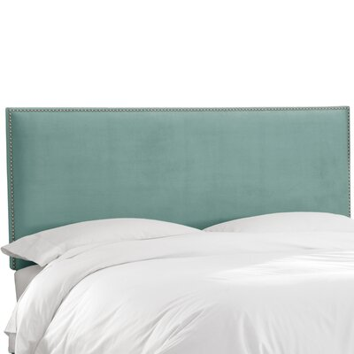 Burhardt Upholstered Panel Headboard Size: Queen, Upholstery: Carribean