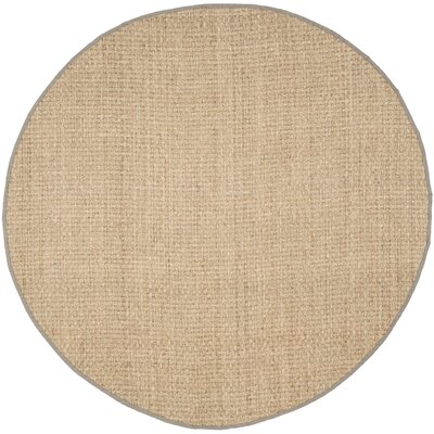 Richmond Brown Indoor Area Rug Rug Size: Round 5