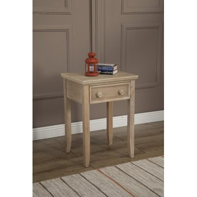 Eastweald 1 Drawer Wood Nightstand