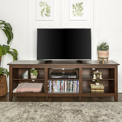 Sunbury 70 TV Stand with optional Fireplace Color: Traditional Brown, Fireplace Included: No