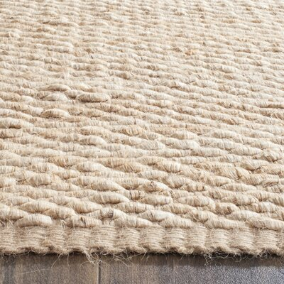 Worley Hand Woven Natural Area Rug Rug Size: Rectangle 5 x 8