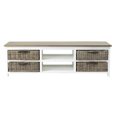 Cleveland 59 TV Stand Color: White