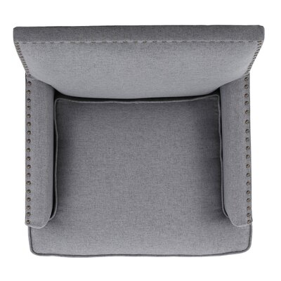 Chilton Armchair Upholstery: Gray