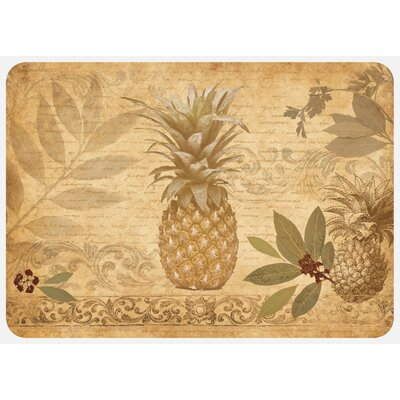 Jaidyn Pineapple Coast Kitchen Mat Mat Size: Rectangle 110 x 27