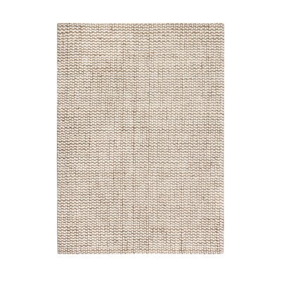 Graywell Hand-Woven Tan/Ivory Area Rug Rug Size: 5 x 8