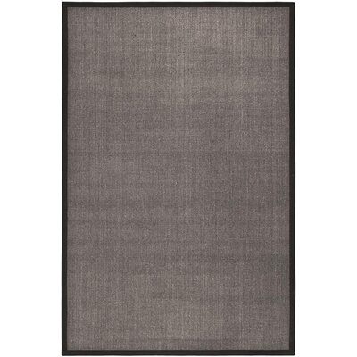 Greene Charcoal/Dark Gray Area Rug Rug Size: Rectangle 6 x 9
