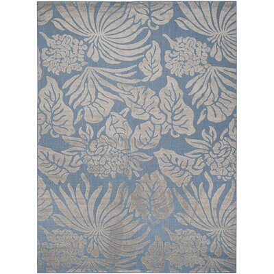 Patricia Blue Indoor/Outdoor Area Rug Rug Size: Rectangle 8 x 112