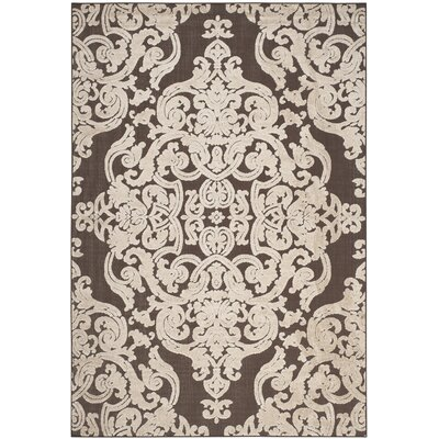 Patricia Brown Indoor / Outdoor Area Rug Rug Size: Rectangle 67 x 96