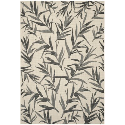Higgs Beige/Anthracite Area Rug Rug Size: Rectangle 67 x 96