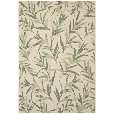 Higgs Beige/Sweet Pea Area Rug Rug Size: Rectangle 67 x 96