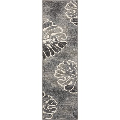 Brentford Gray Area Rug Rug Size: Runner 22 x 76