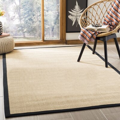Greene Contemporary Sisal Brown Area Rug Rug Size: Rectangle 5 x 8