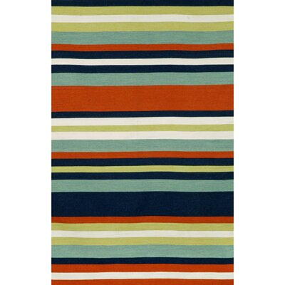Ranier Hand-Woven Multi-Colored Indoor/Outdoor Area Rug Rug Size: Rectangle 5 x 76