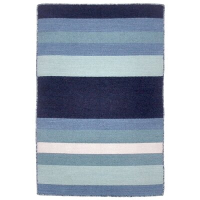 Ranier Hand-Woven Blue Indoor/Outdoor Area Rug Rug Size: Rectangle 2 x 3