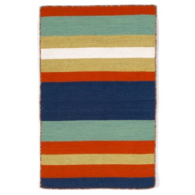 Ranier Hand-Woven Multi-Colored Indoor/Outdoor Area Rug Rug Size: Rectangle 2 x 3