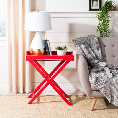 Melbourne Accent Table Color: Hot Red