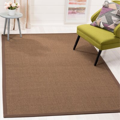 Greene Contemporary Brown Area Rug Rug Size: Rectangle 5 x 8
