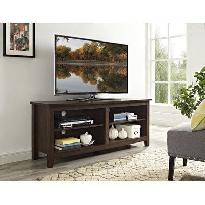 Sunbury 58 TV Stand Color: Traditional Brown