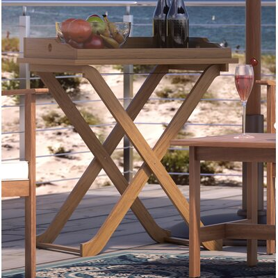 Paxton End Table Finish: Teak Brown