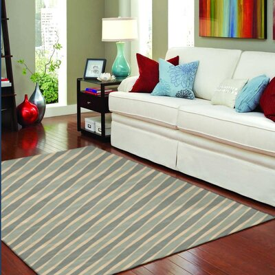 Westwood Waves Green/Beige Area Rug Rug Size: Rectangle 22 x 5