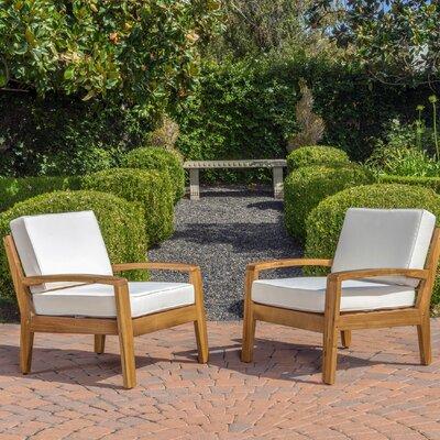 Gaia Armchair Upholstery: Beige