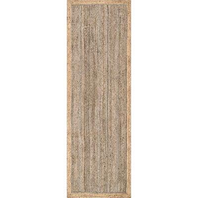 Benham Gray Area Rug Rug Size: Runner 26 x 8