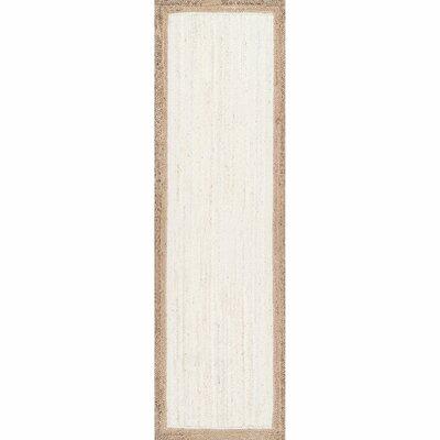 Westbury White Area Rug Rug Size: Runner 26 x 8