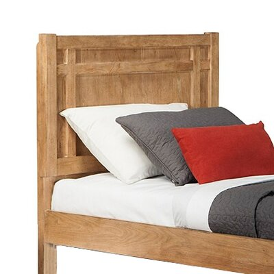 Natural Elements Panel Headboard Size: Full
