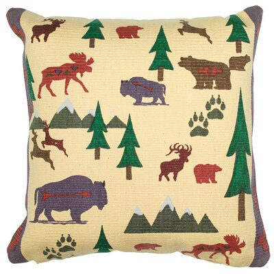 Wild TrekThrow Pillow