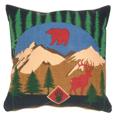 Pine Mountain Throw Pillow