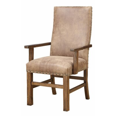 Lyons Arm Chair in Almond