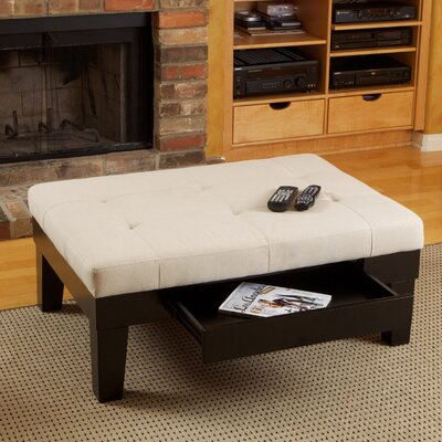 Lockeport Drawer Storage Ottoman