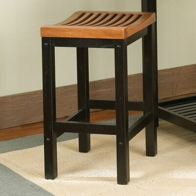Greenwood Bar Stool Finish:  Oak, Height: 24