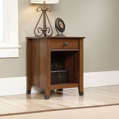 Newdale 1 Drawer Nightstand Finish: Cherry