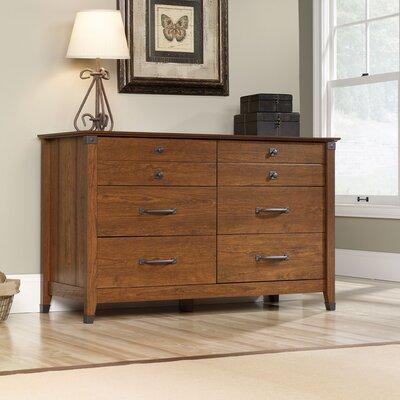 Newdale 6 Drawer Dresser Finish: Cherry