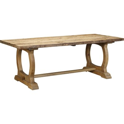 Packsaddle Mountain Dining Table Finish: Natural
