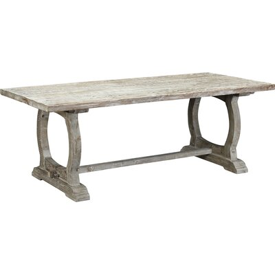 Packsaddle Mountain Dining Table Finish: White