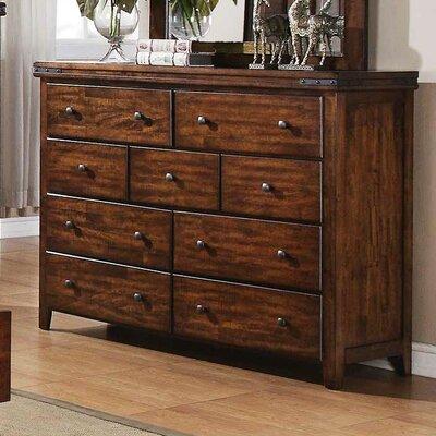 Nashoba 9 Drawer Standard Dresser