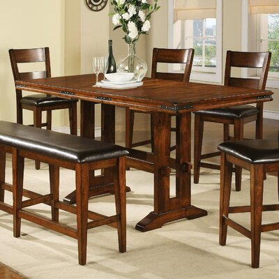 Agatha Counter Height Extendable Dining Table