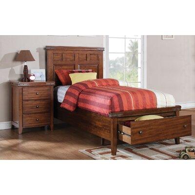 Twin Platform Customizable Bedroom Set